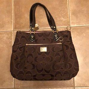 Coach Poppy Large Shoulder Bag